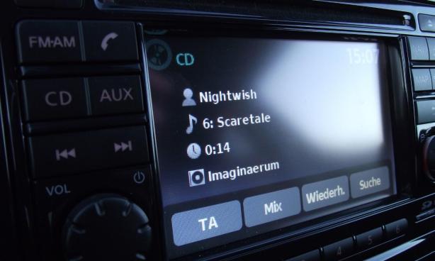 Nightwish Scaretale im Nissan Juke