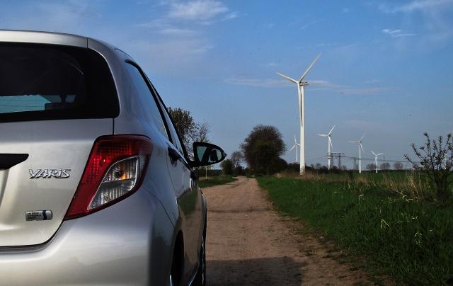 Toyota Yaris XP13 1.5 VVT-i Hybrid Heckansicht