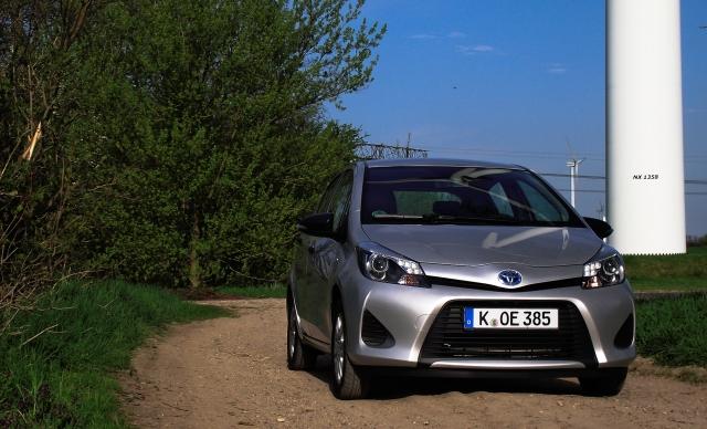 Toyota Yaris XP13 Hybrid Vorderansicht