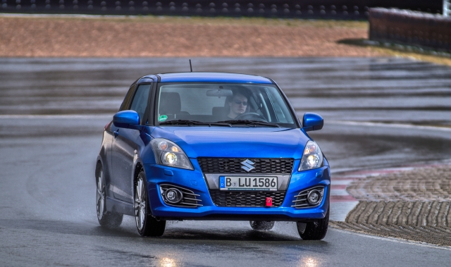 2015 #BDBB Blogger Day Bilster Berg Suzuki Swift Sport
