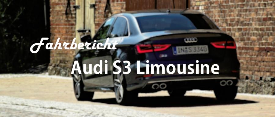 2013 Audi S3 Limousine