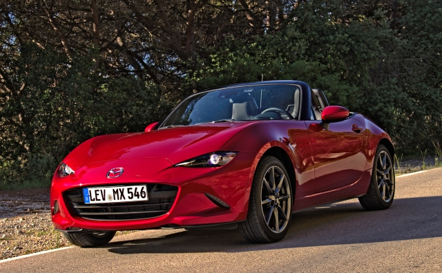 Mazda MX-5 ND in Katalonien, Spanien