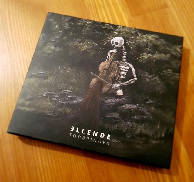 """Ellende Todbringer (2016) Limited Edition """"Flower"""" Digipack-CD"""