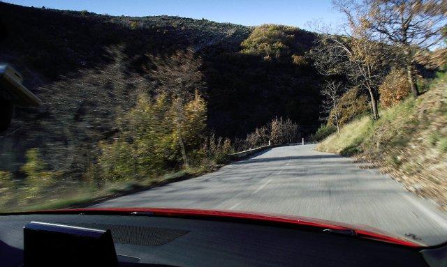 Passfahrt: Mit dem Audi A1 Facelift (Typ 8X) auf dem Col de Braus (2015)