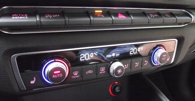 Das Klimabedienteil der 2014er Audi A3 Limousine (8VS)